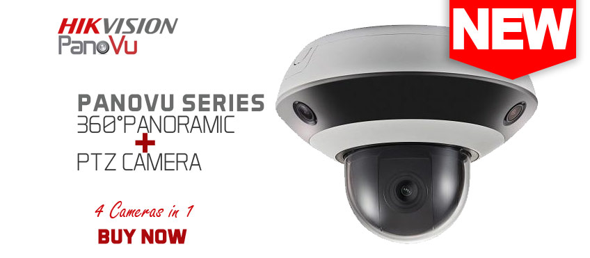Hikvision PanoVu Series and PTZ Camera