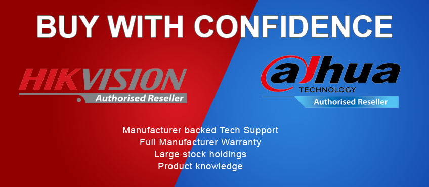Dahua and Hikvision Authorised Reseller