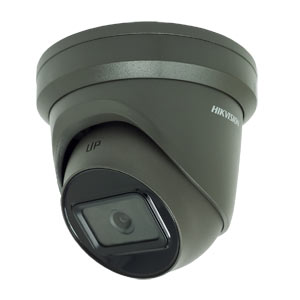 DS-2CD2365G1-I Hikvision Dark Fighter 6MP 120dB WDR IP Turret Camera with 30m EXIR Night Vision & PoE in Grey