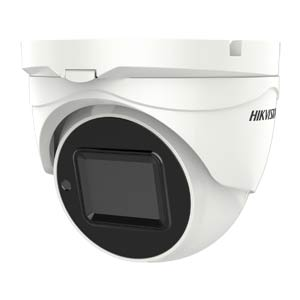 DS-2CE56H0T-IT3ZE Hikvision HD-TVI 5MP Motorised Zoom Turret Camera with 40M EXIR Night Vision (PoC)