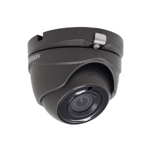 DS-2CE56H1T-ITME-G Hikvision HD-TVI 5MP Mini Dome Camera with 20M EXIR Night Vision (PoC / Grey)