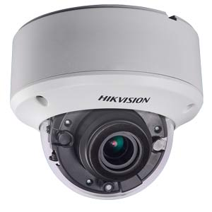DS-2CE59U8T-VPIT3Z Hikvision HD-TVI 8MP (4k UHD) Motorised Zoom IK10 Vandal Dome Camera with 60M EXIR Night Vision