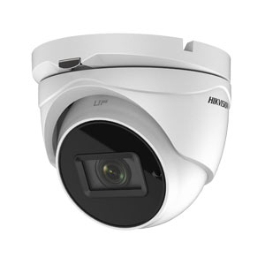 DS-2CE79U1T-IT3ZF Hikvision HD-TVI 8MP (4k UHD) Motorised Zoom Turret Camera with 60M EXIR Night Vision