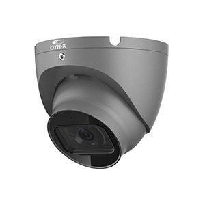 Eagle 2MP 1080P HD-CVI IR Turret Camera with Built in Mic (AoC, Grey)
