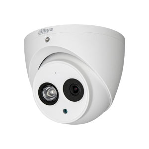 HAC-HDW1200EM-A Dahua Lite HD-CVI 1080P Eyeball Dome Camera with 50M Night Vision and Audio