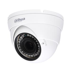 HAC-HDW1200R-VF Dahua Lite HD-CVI 1080P Manual Zoom Dome Camera with 30M Night Vision