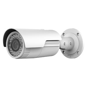 IPC-B620-Z HiWatch by Hikvision 120dB WDR 1080P Motorised Zoom IP Bullet Camera with 30m Night Vision & PoE