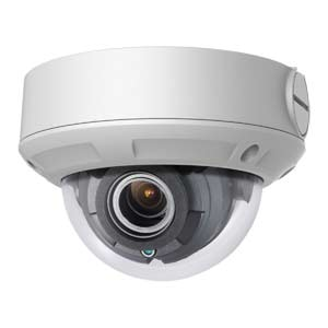 IPC-D650H-Z HiLook by Hikvision 120dB WDR 5MP H.265 Motorised Zoom IP Vandal Dome Camera with 30m Night Vision & PoE