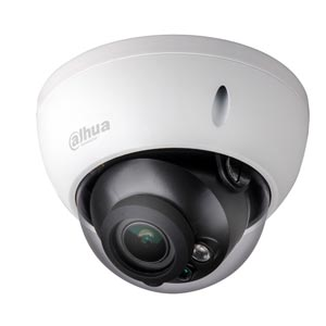 IPC-HDBW2300R-Z Dahua 3.0MP Motorised Zoom (IK10) IP Dome Camera with 30m IR and PoE