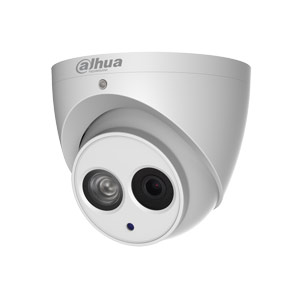 IPC-HDW4431EM-AS Dahua 4.0 Megapixel 120dB WDR IP Dome Camera with 50m Night Vision, Audio & PoE