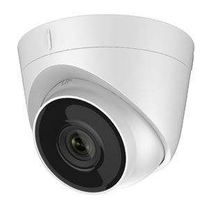 IPC-T140 HiWatch by Hikvision 4MP IP Turret Camera with 30m Night Vision & PoE