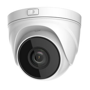 IPC-T640-Z HiWatch by Hikvision 120dB WDR 4MP Motorised Zoom IP Turret Camera with 30m Night Vision & PoE