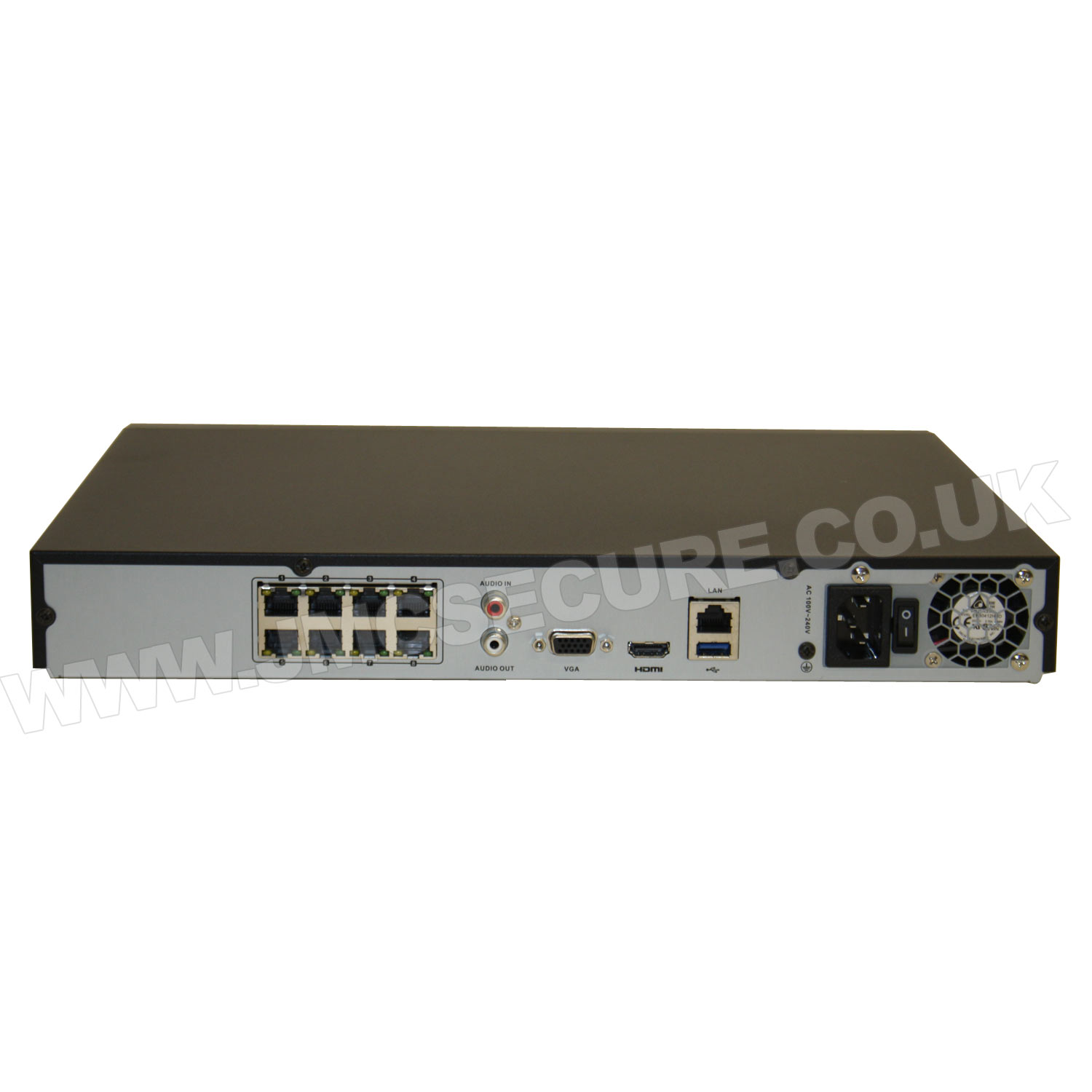 Nvr 208m A 8p Hiwatch By Hikvision 8 Channel 6mp Nvr With