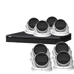 4MP Olix 16Ch IP CCTV Kit with 8x Motorised Vari-focal PoE Turret Cameras