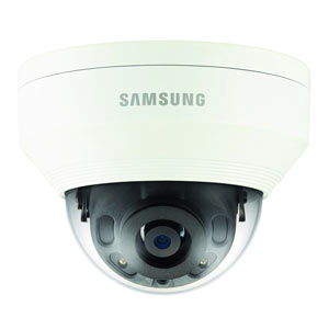 QNV-7010R Samsung WiseNetQ 4MP Vandal-Resistant IP Dome Camera with 20m Night Vision and PoE