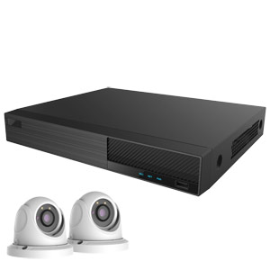OYN-X 5MP Eyeball Dome 2 Camera IP CCTV Kit