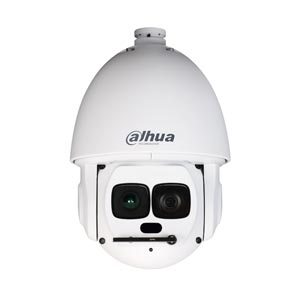 Dahua 1080P 40X Zoom Auto Tracking PTZ IP Camera with 500m Laser IR Night Vision and Wiper (Hi PoE)