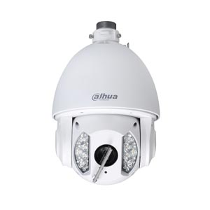 SD6AW230-HNI Dahua 1080P 30X Zoom Auto Tracking PTZ IP Camera with 150m Night Vision and Wiper