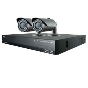 1080P Samsung 4 Channel System with 2 x 20M IR Manual Zoom Bullet Cameras