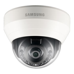SND-L6013R Samsung 1080P Full HD Indoor IP Dome Camera with 15m Night Vision (PoE Only) with Audio