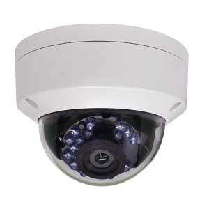 THC-D220 HiWatch by Hikvision HD-TVI 1080P IK10 Vandal Dome Camera with 20M IR Night Vision