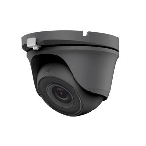 THC-T120-MG HiWatch by Hikvision HD-TVI 1080P Metal Dome Camera with 20M EXIR Night Vision in Grey