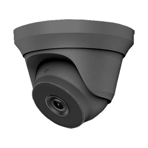 THC-T240-MG HiLook by Hikvision HD-TVI 4MP Metal Dome Camera with 40M EXIR Night Vision in Grey
