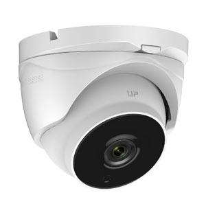 THC-T220-Z HiWatch by Hikvision HD-TVI Ultra Low Light 1080P Motorised Zoom Dome Camera with 40M EXIR Night Vision