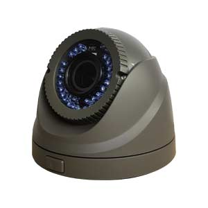 THC-T220G-V HiWatch by Hikvision HD-TVI 1080P Vari-Focal Dome Camera with 40M IR Night Vision in Grey