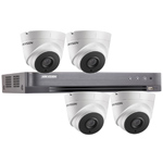 Hikvision 4Ch 1080P HD-TVI CCTV Kit with 4x 40M EXIR Night Vision Turret Camera