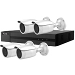 HiLook by Hikvision 4Ch IP CCTV Kit with 4x 120dB WDR 5MP H.265 Motorised Zoom IP Bullet Camera