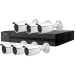HiLook by Hikvision 8Ch IP CCTV Kit with 6x 120dB WDR 5MP H.265 Motorised Zoom IP Bullet Camera