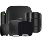 Ajax Hubkit3 Black Intruder Alarm Kit