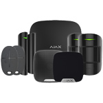 Ajax HubPluskit1 Black Intruder Alarm Kit