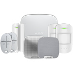 Ajax HubPluskit1 White Intruder Alarm Kit