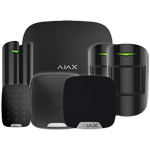 Ajax HubPluskit3 Black Intruder Alarm Kit