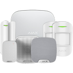 Ajax HubPluskit3 White Intruder Alarm Kit