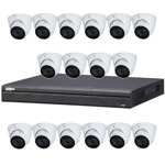 Dahua 16ch UHD 4K IP CCTV Kit with 16x 8MP Starlight IR Motorised Vari-Focal Eyeball Network Camera