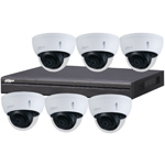 Dahua 8ch UHD 4K IP CCTV Kit with 6x 8MP Starlight IR Vandal Dome Network Camera